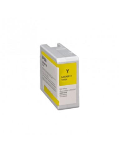 c13t44g400 - sjic40p yellow cw c6050 c6550